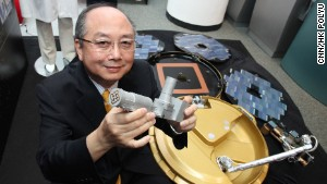 Chopsticks inspire China's space tools