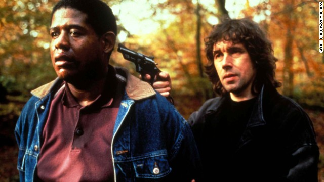 "In<strong> ""The Crying Game"" </strong>(1992), an IRA soldier (Stephen Rea, right, with Forest Whitaker) falls in love with a prisoner's girlfriend. Or is that the prisoner's boyfriend? Jaye Davidson was nominated for an Oscar for best supporting actor for his gender-bending performance."