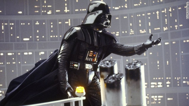 "Some of the most startling words in movie history are uttered by Darth Vader to Luke Skywalker in 1980's<strong> ""The Empire Strikes Back""</strong> (""Star Wars Episode V,"" for those who prefer the retitled version):<a href='http://starwars.com/watch/episode_5_i_am_your_father.html' target='_blank'> ""I am your father,"" Vader says.</a> And thus the battle between the Rebels and the Empire becomes very personal."