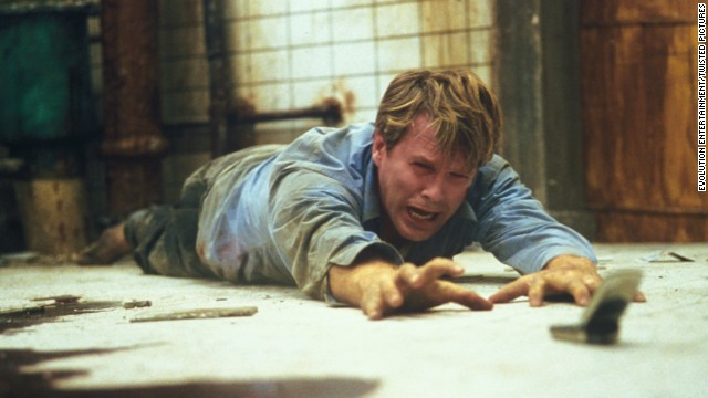 "For almost the entire running time of <strong>""Saw""</strong> (2004), a corpse lies in a pool of blood on the floor of well-hidden washroom. Meanwhile, two chained figures, played by Cary Elwes and Leigh Whannell, realize they're part of a brutal serial killer's game. After much gore and misdirection, the serial killer is revealed to be the corpse -- who's not so dead after all."