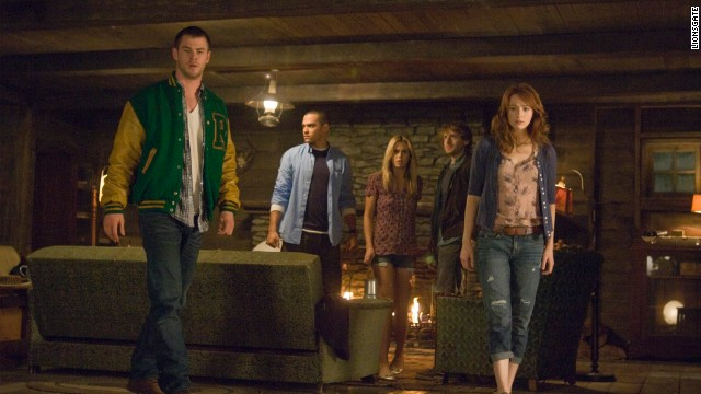 "<strong>""The Cabin in the Woods""</strong> (2012) is, like ""Scream,"" as much a parody of horror movie cliches as it is a horror movie itself. But the final twist, including an uncredited performer, shows that underneath the parody is an apocalyptic heart."