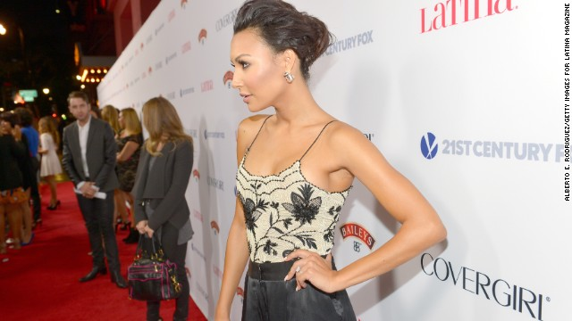 Is that an engagement ring, Naya Rivera?