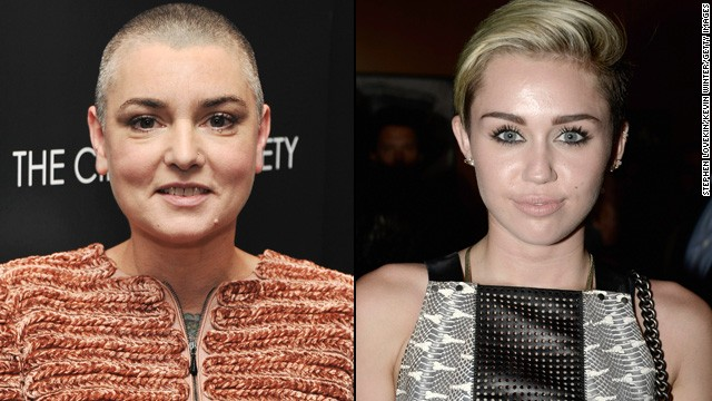 The Sinead O'Connor and Miley feud isn't over