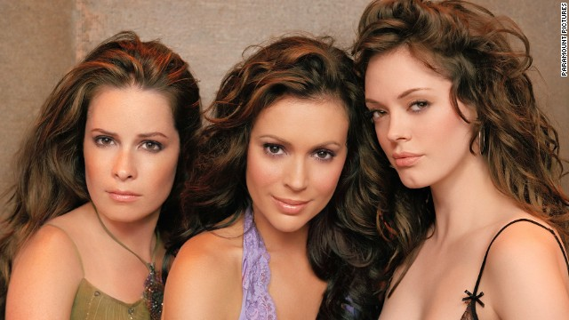 Holly Marie Combs (from left), Alyssa Milano and Rose McGowan aren't charmed by the idea of rebooting their former show.