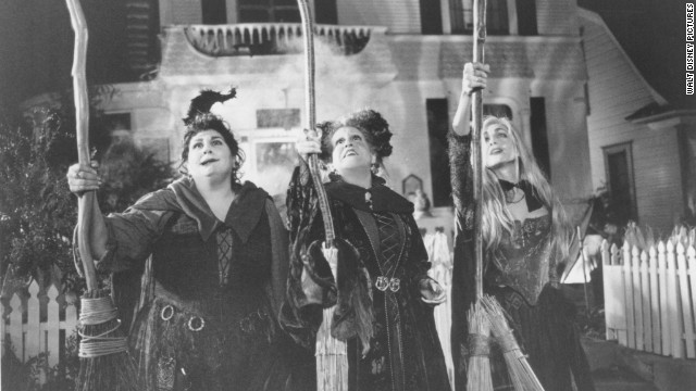 "Disney's 1993 tale of the Sanderson sisters in ""Hocus Pocus"" has become a Halloween staple in the 20 years since its release. Kathy Najimy, left, Bette Midler and Sarah Jessica Parker are likely somewhere running amok and hunting down virgins on your cable TV right about now."