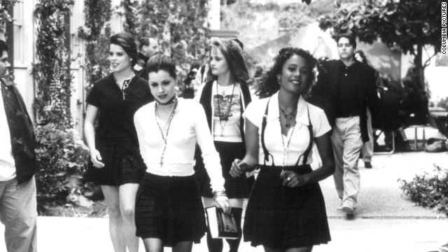 "No disrespect to stars Robin Tunney, back right, Rachel True, front right, or Neve Campbell, back left, but Fairuza Balk's Nancy was the baddest witch in ""The Craft's"" coven. When not being mined for style inspiration, this 1996 horror flick can still give nightmares."