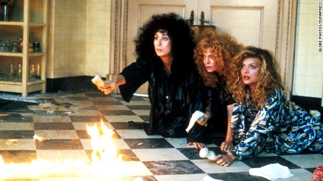 "In 1987, Cher, left, Susan Sarandon and Michelle Pfeiffer gifted us with a darkly comic adaptation of John Updike's ""The Witches of Eastwick."" As three single women unaware of their own power, they accidentally lure the devil right into their idyllic town."