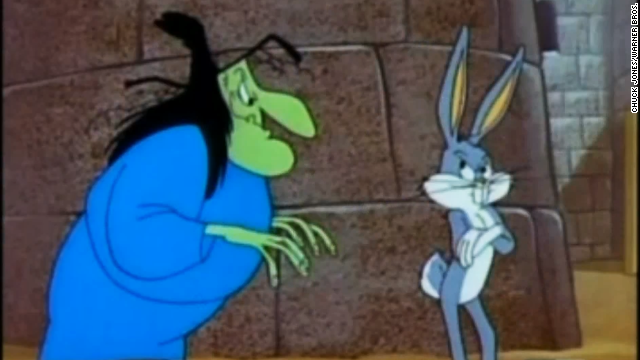 <a href='http://www.dailymotion.com/video/xdk7ww_a-witch-s-tangled-hare_shortfilms' target='_blank'>In a cackling contest, Witch Hazel would have everyone beat</a>. The animated witch was often Bugs Bunny's foe, but given her jovial attitude and infectious giggle, you can't help but love her.
