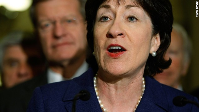 Sen. Susan Collins expresses support for same-sex marriage