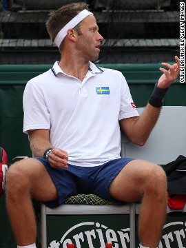 "Swedish tennis player Robert Lindstedt, pictured here at the French Open in May, found the air quality in Beijing untenable, describing it on his blog as ""a disaster"" and questioning whether he would return to the event."