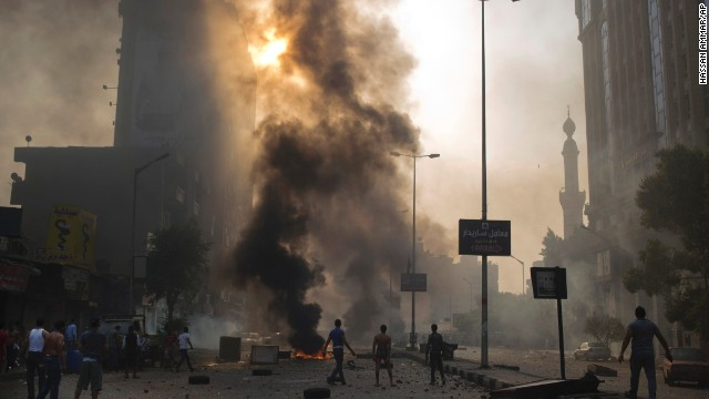 Photos: Clashes in Egypt
