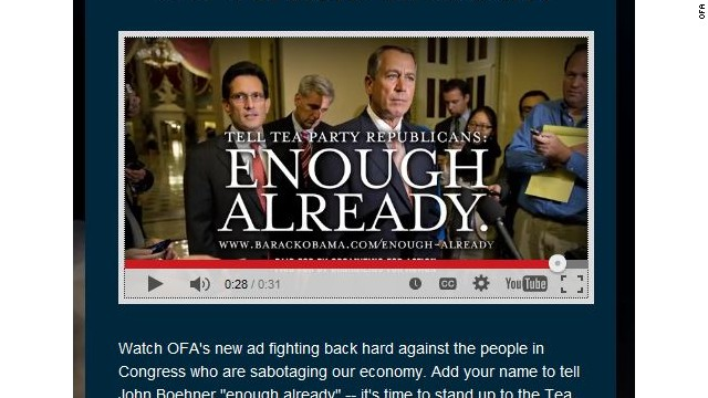 Pro-Obama group slams GOP in new shutdown ad