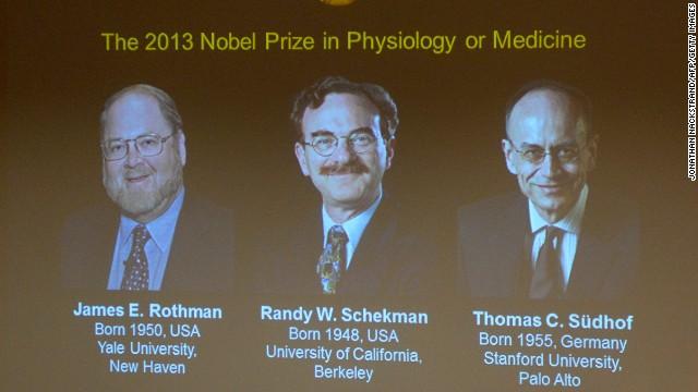 Nobel de Medicina para dos estadounidenses y un alemán