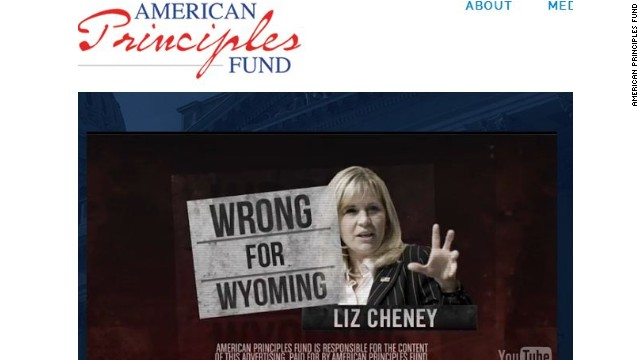 Liz Cheney under 'values' attack in Wyoming Senate race