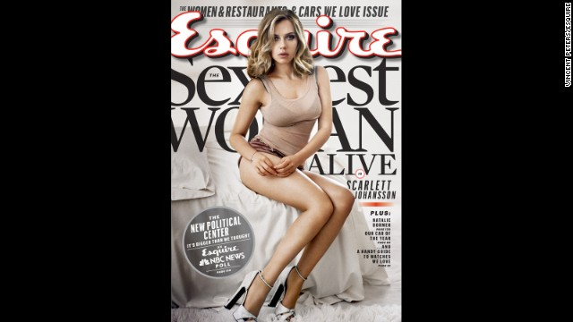 Scarlett Johansson, 'Sexiest Woman Alive,' has jealousy issues