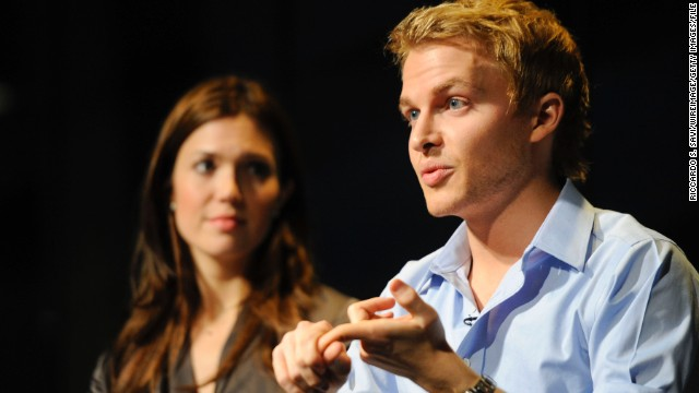 Ronan Farrow speaks at The Newseum in Washington in October 2011. (Photo by Riccardo S. Savi/WireImage)
