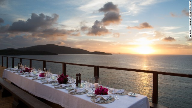 You can also have dinner on the rooftop terrace and watch the sunset.