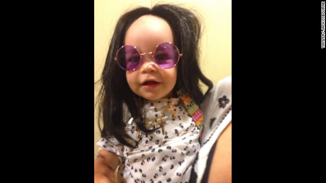Pearl Osbourne takes after granddad Ozzy