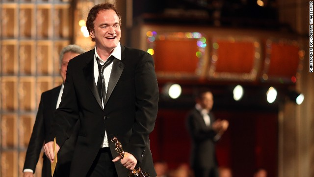 Oscar-winning screenwriter and director Quentin Tarantino says he is still working on the script for the Western.