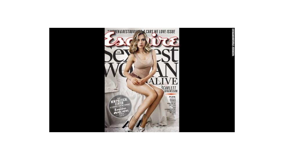 Scarlett Johansson, la mujer más sexy del mundo