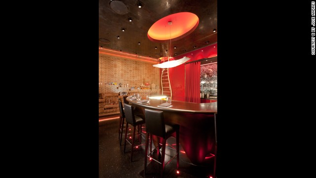 <strong>1.</strong><a href='http://ebyjoseandres.com' target='_blank'> é by José Andrés</a> at the Cosmopolitan (Las Vegas)
