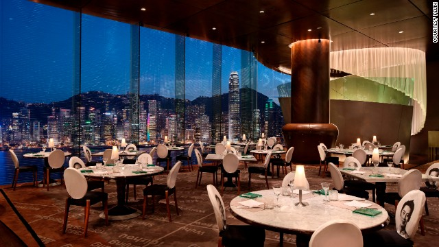 <strong>4.</strong> <a href='http://www.peninsula.com/Hong_Kong/en/Dining/Felix/default.aspx' target='_blank'>Felix at the Peninsula Hotel</a> (Hong Kong)