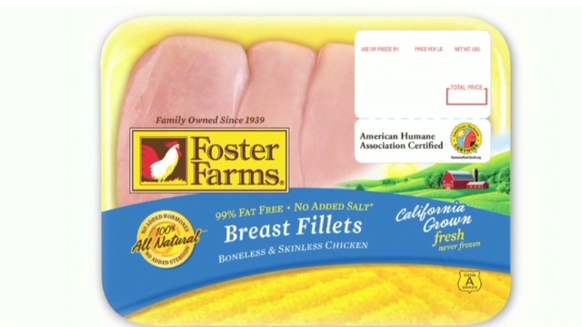 Brote de salmonella que alarma a EE.UU. podría estar asociado a pollo contaminado