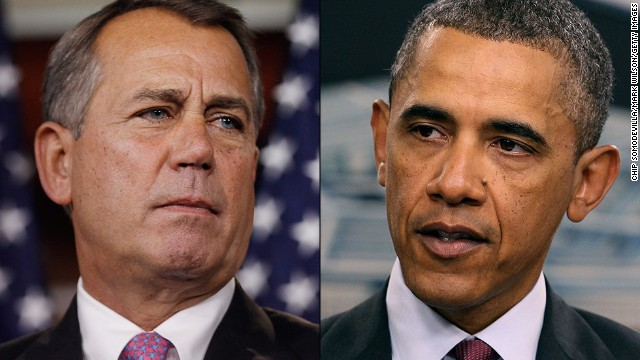 Obama talks immigration in South Korea and Boehner talks baby talk