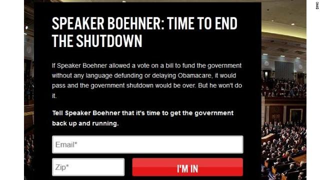 First on CNN: DNC targets key Republicans over shutdown