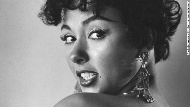 "Rita Moreno on the March 1, 1954, cover of Life magazine. ""I didn't want to be ... this 'sexpot',"" she told CNN. Moreno added that she had no role models, so she chose one: Elizabeth Taylor."