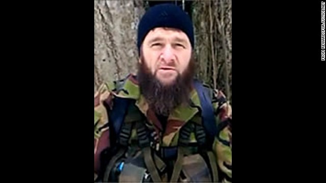 Doku Umarov, leader of the Caucasus Emirate, called for attacks on last month's Winter Olympics in Sochi, Russia.