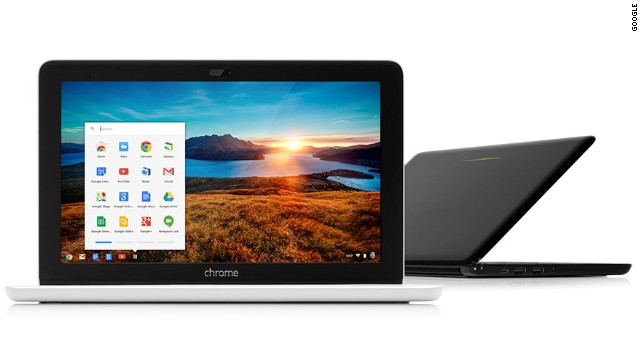 The new HP Chromebook 11 can be charged using the same kind of USB cable used on many smartphones.