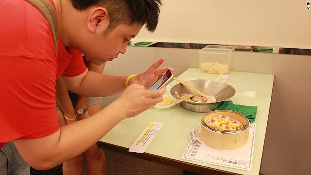 At DimDimSum Specialty Store, each team member wrapped two pieces of siu mai (steamed pork dumplings) to create a complete dim sum dish.