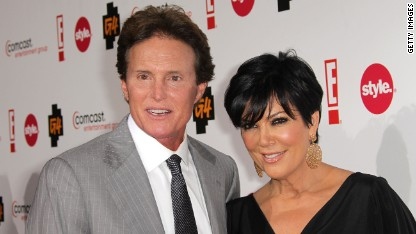 Bruce and Kris Jenner in 2011