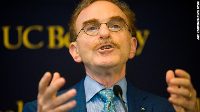 Schekman speaks during a news conference at the University of California, Berkeley on October 7. The trio's discovery will help provide insights into diabetes, immune disorders and other diseases.