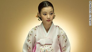 The traditional Korean hanbok is being given a modern overhaul by popular designers.