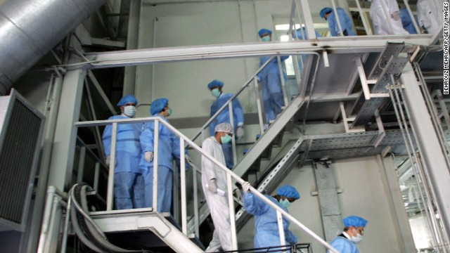 Irán podría producir suficiente uranio para una bomba nuclear en un mes