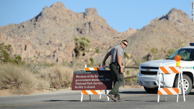 Obama admin. may let states fund national parks during shutdown