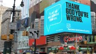 Creationists taunt atheists in billboard war