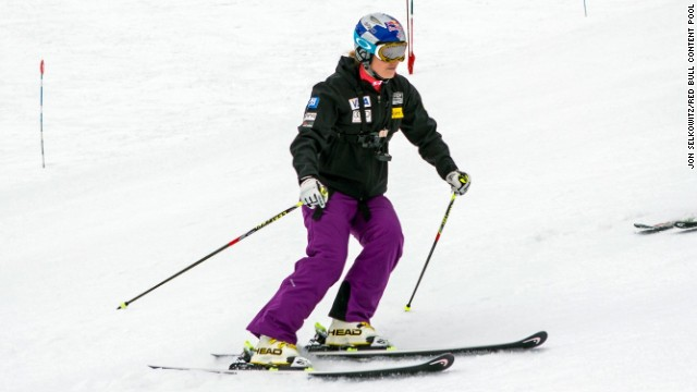 Vonn's return to action was in Chile's Andes Mountains where she insisted her damaged knee felt as good as her unaffected left knee, and that she felt absolutely no fear.
