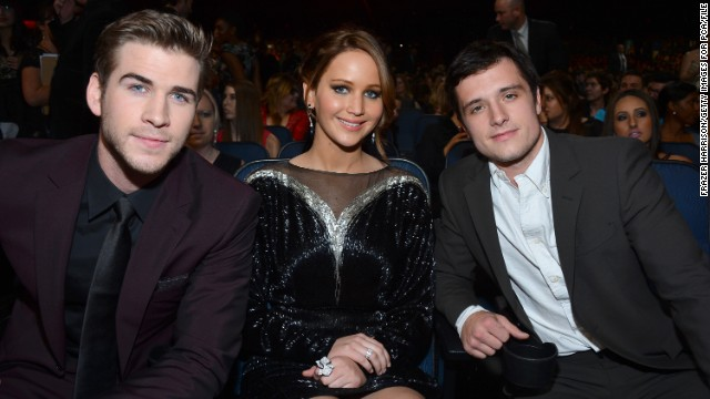 Josh Hutcherson on a 'Hunger Games' threesome