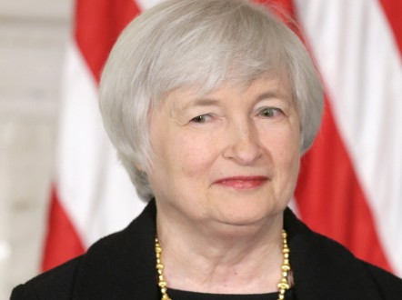 Janet Yellen became the official nominee for the next Fed chair when U.S. President Barack Obama announced her nomination on October 9, 2013.