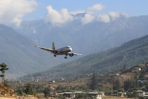 Aeropuerto Paro, Bután