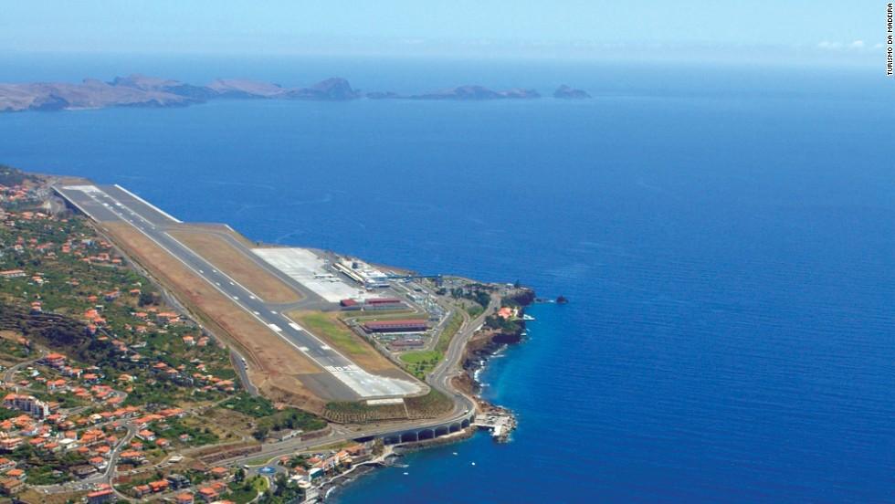 Aeropuerto Madeira, Funchal, Portugal