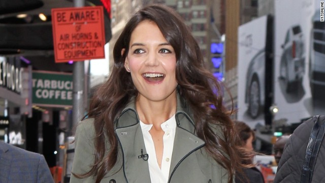 Katie Holmes is returning to TV, and more news to note