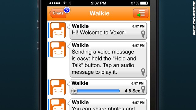 Voxer: Think walkie-talkies. This push-to-talk messaging allows kids with smart phones to share text, photos and videos with lightning speed.