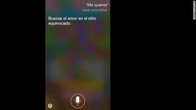 Las mejores respuestas de Siri en español