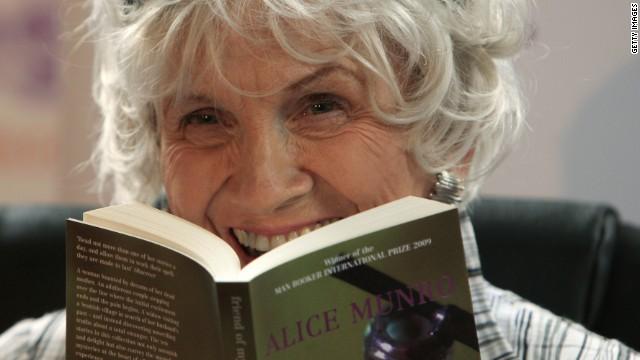 La canadiense Alice Munro gana el Premio Nobel de Literatura 2013