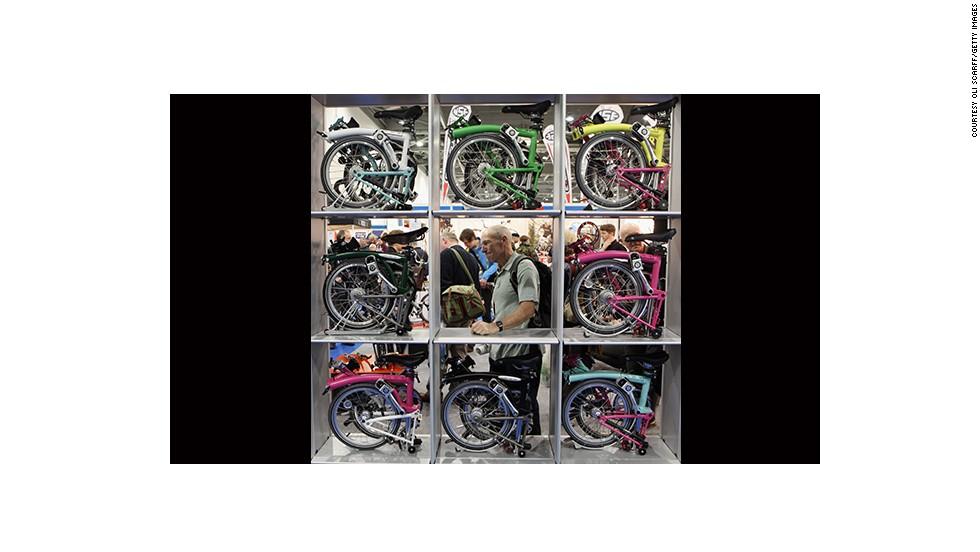 Bicicletas plegables Brompton