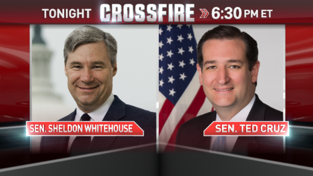 In the Crossfire: Sen. Ted Cruz & Sen. Sheldon Whitehouse